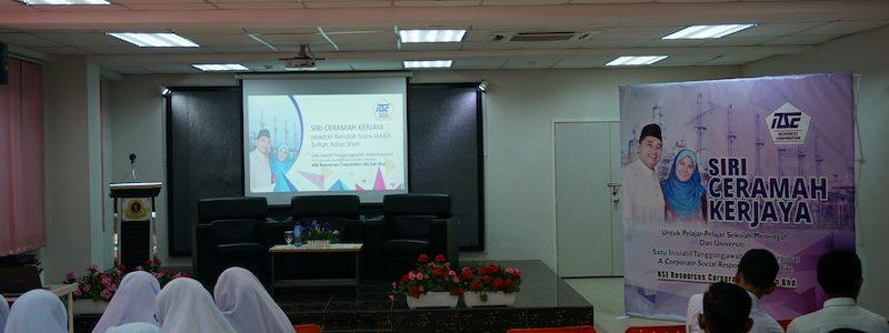NSERC CSR Intiative: Siri Ceramah Kerjaya 2nd Stop – MRSM Kuala Kangsar
