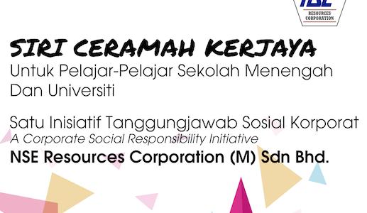 NSERC CSR Initiative: Siri Ceramah Kerjaya 1st Stop